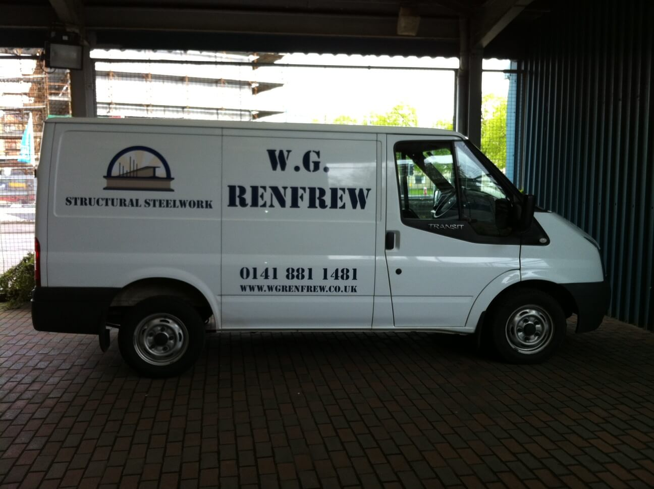 WG Renfrew Van - Glasgow Creative