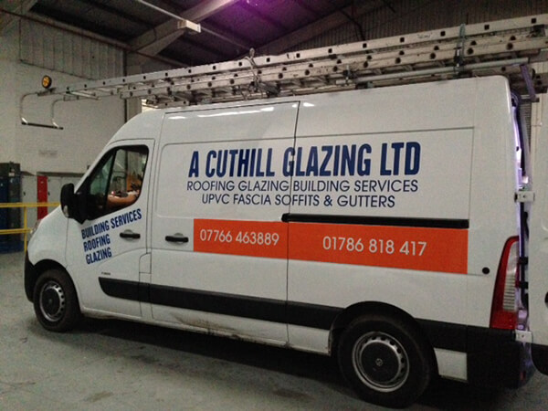 drew-cuthill-van-sign - Glasgow Creative