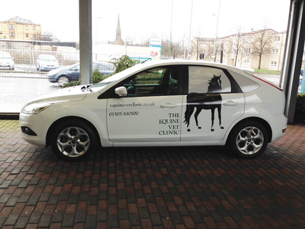 equine-vets-car-graphics - Glasgow Creative