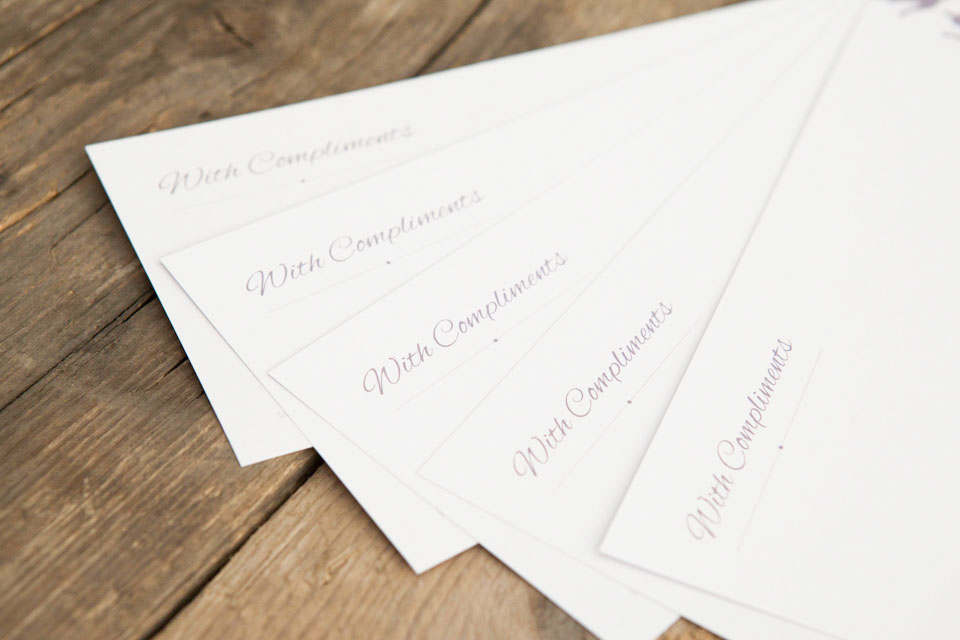 Compliment Slip Printing Glasgow