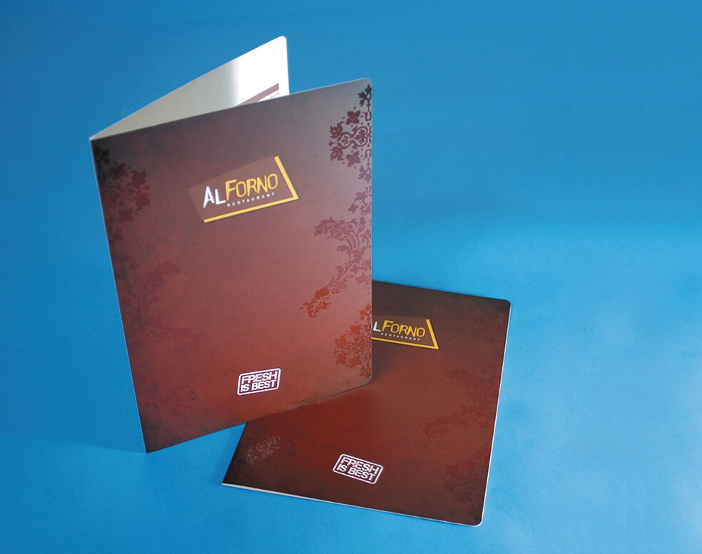 AL FORNO RESTAURANT SAMPLE DESIGN - Glasgow Creative