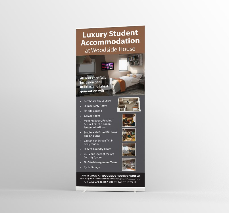 Roller Banner Printing Glasgow