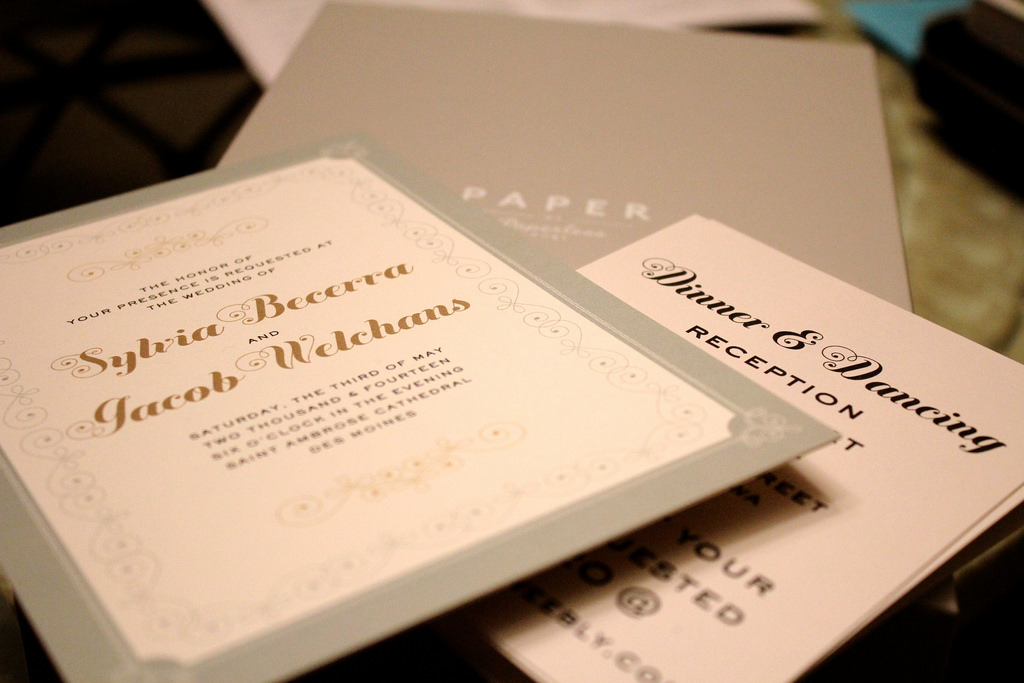 Wedding Invitations Glasgow