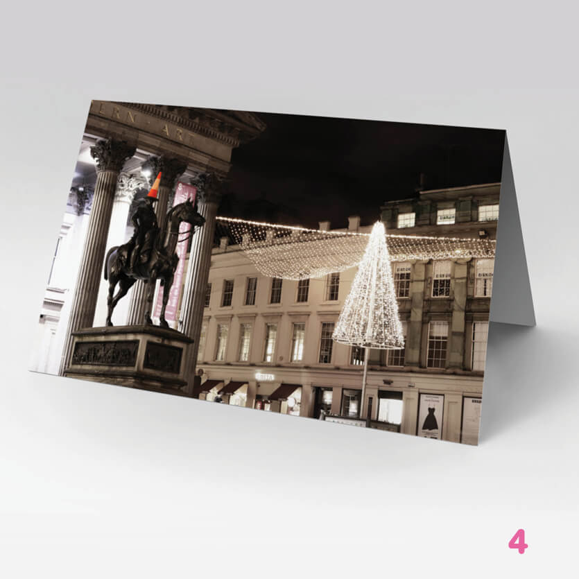Greetings Card 23- Glasgow Creative