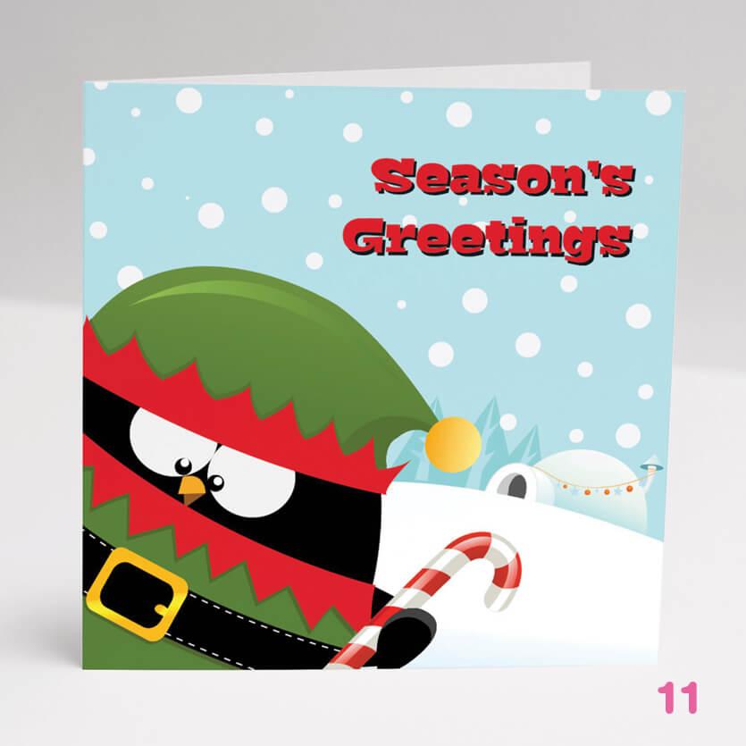 Greetings Card 16- Glasgow Creative