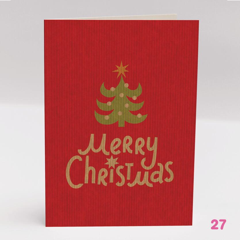 Merry Christmas Card 3- Glasgow Creative