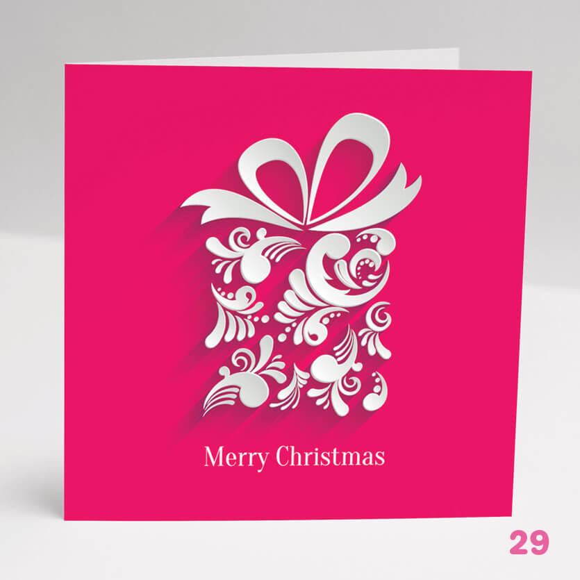 Merry Christmas Card- Glasgow Creative