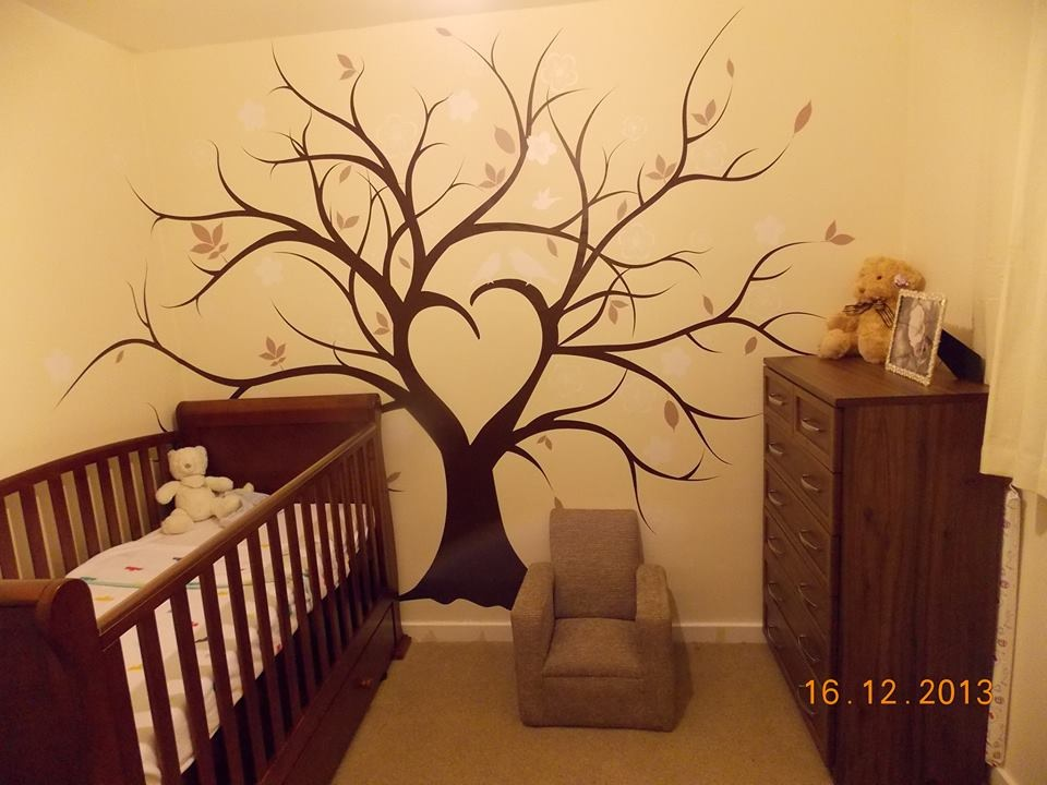 Wall Vinyl Tree - Glasgow Creative