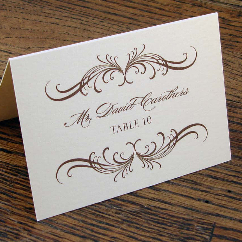 Sample Table Card 3 - Glasgow Creative