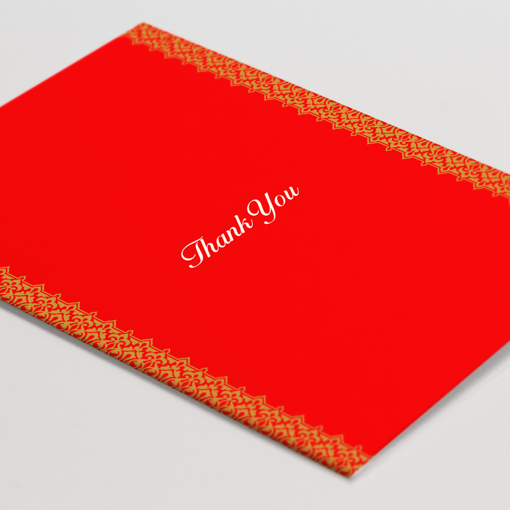 Wedding Thank You Card 4 - Glasgow Creative