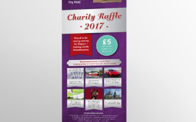 Jurys Inns: Charity Draw Marketing Materials