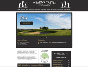 Mearns Castle Golf Academy - Old Website