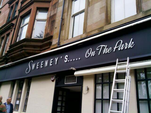 Building Signage Glasgow