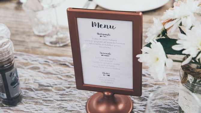 Tips for great menu design
