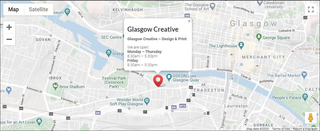 Glasgow Creative Location